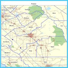 map of fresno map of fresno california vacations travel map