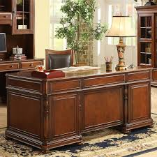 Executive Desk Solid Wood Executive Solid Oak Desk Wayfair