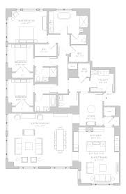 Master Suites Floor Plans Luxury Chicago Condos One Bennett Park Floorplans