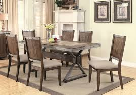 coaster furniture 107011 beckett dining set in dark ash