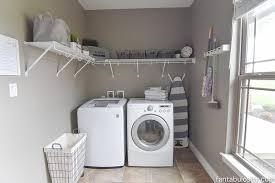 laundry room ideas diy laundry room shelving storage ideas fantabulosity