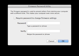 reset nvram yosemite terminal how to set a firmware password without rebooting in os x cnet
