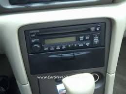 how to mazda 626 bose car radio removal repair replace youtube