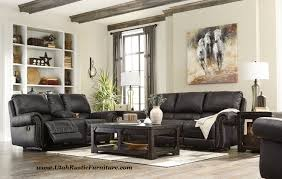 bradley u0027s furniture etc rustic reclining sofas and recliners