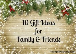 christmas gift ideas for family friends christmas gift ideas