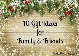 10 gift ideas for friends family thankful homemaker