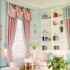 Light Blue Bedroom Curtains State Striped Curtains Twilight Ready Made Blackout Curtain Light