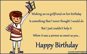 birthday wishes for ex girlfriend u2013 wishesmessages com