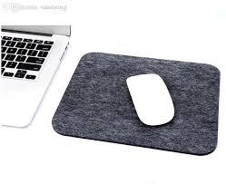 mousepad designen wholesale minimalist design mousepad felt mouse pad soft and