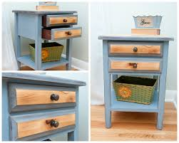 Refurbished End Tables by Pricing Your Painted Furniture Salvaged Inspirations