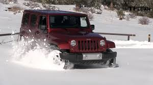 Jeep News And Rumors 2013 Jeep Wrangler Snow Drive Freedom Top Review Jeep Week Video