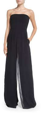 strapless wide leg jumpsuit heritage strapless wide leg jumpsuit where to buy how