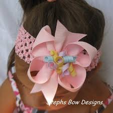 easter hair bows 4 easter boutique korker hair bow stephs bow designs