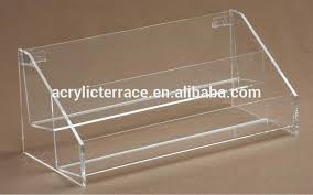 acrylic greeting card stands 2 tier acrylic greeting card card