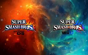 super smash bros wii u wallpapers super smash bros wii u 3ds logo wallpaper 11 by thewolfbunny on