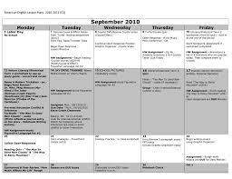 2010 2011 american literature lesson plans e3