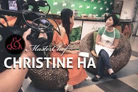 Christine Blind Masterchef Christine Ha In Vietnam