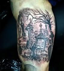 gravestones tattoos for men pictures to pin on pinterest tattooskid