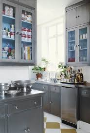 Paint Kitchen Cabinets Gray 23 Best Painted Silver Cabinets Images On Pinterest Home Gray