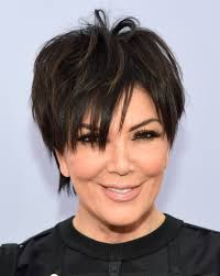 kris jenner messy cut kris jenner short hairstyles lookbook