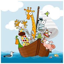 tableau pour chambre enfant tableau pour chambre enfant thème mer et animaux rigolos série golo