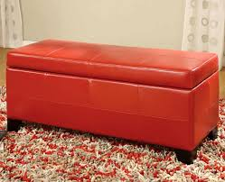 Upholstered Storage Bench Stylish Upholstered Storage Bench U2014 Jen U0026 Joes Design