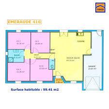 plan maison plain pied en l 4 chambres plan maison plein pied 4 chambres maison construction