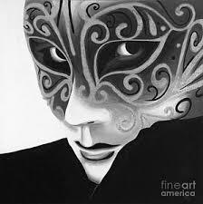 black and white mardi gras masks mardi gras mask paintings america