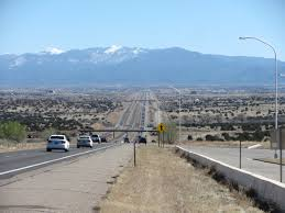 The Santa Fe New Mexican File Interstate 25 Approaching Santa Fe New Mexico Jpg Wikimedia