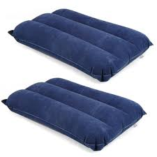 Blow Up Furniture by Trixes Pack Of 2 Inflatable Travel Pillows Blow Up Travel