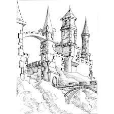 25 unique castle sketch ideas on pinterest castle drawing