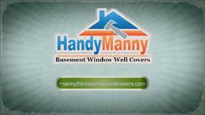handymanny basement window well covers youtube