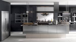 meuble cuisine inox brossé meuble de cuisine avec evier inox maison design bahbe com