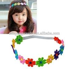 baby hair band new korean baby hair band issuing ribbon lovely girl plum