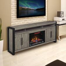 costa mesa 72 in electric fireplace entertainment center in