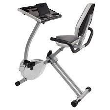 standing desk exercise equipment stamina 2 in 1 recumbent exercise bike workstation and standing desk