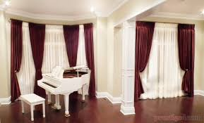 should drapes touch the floor window curtain magnificent curtain window treatments curtains