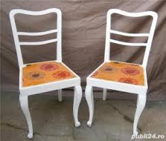 scaune vechi din lemn albe mobila shabby chic sector 2 casa