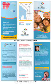 office brochure templates dental office brochure brochures hm fusion template newspress me