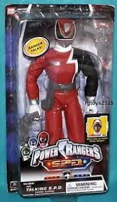 power rangers spd red 12 talking ranger ebay