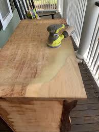 how to wood veneer furniture removing veneer refinishing furniture the coastal oak