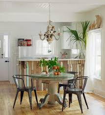 whitewash distressed reclaimed table dining room beach style with