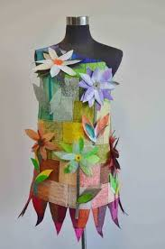 dresses made from recycled materials material but upcycled means