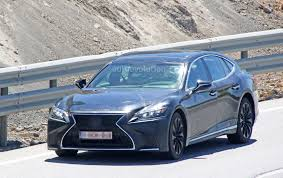 lexus lc spy photos spyshots 2019 lexus ls f spotted could pack twin turbo v8