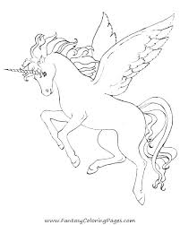 coloring pages of unicorns and fairies coloring unicorn coloring sheets coloring pages wings coloring pages