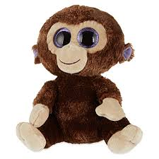 ty beanie boos coconut monkey large size 17