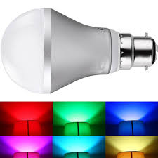 Rgb Led Light Bulb With Remote by Jndee Dimmable Rgb 5w B22 Colour Changing Led Light Bulb With Ir