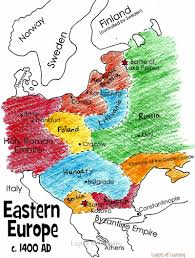 European Map by Print And Color This Map Of Eastern Europe In The Middle Ages