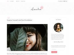 Lifestyle Blog Design 20 Best Responsive Free Wordpress Blog Themes 2017