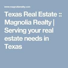 Magnolia Real Estate Waco Tx by
